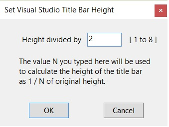 3ea5238632d Even if you change the title bar to very small as 1 8 of the original  height